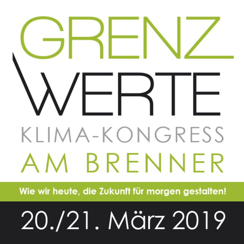 Grenzwerte Klimakongress am Brenner